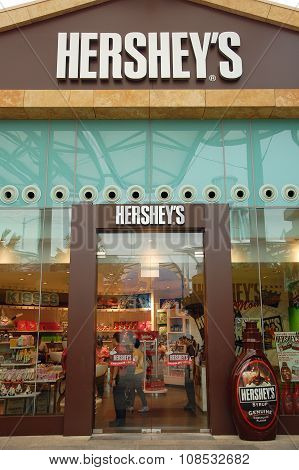 Hershey's Chocolate World in Sentosa, Singapore
