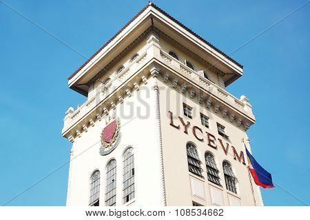 Lyceum of the Philippines in Intramuros, Manila, Philippines