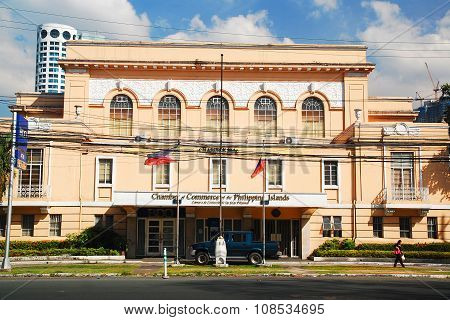 Chamber of Commerce of the Philippine Islands in Intramuros, Manila