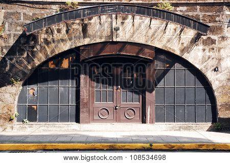Intramuros Arch Door in Manila, Philippines