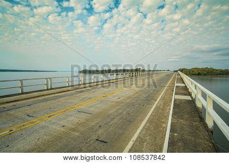 Road Crossing Palmar Reservoir