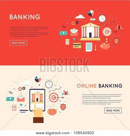 Bank deposited