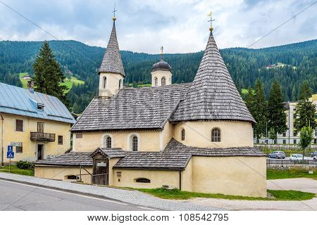 Convent Church In San Candido