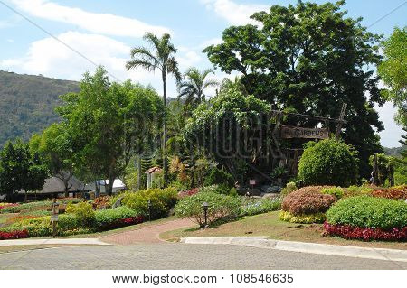 Tagaytay Highlands Garden in Cavite, Philippines