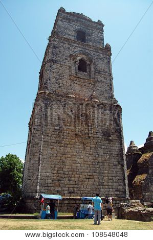 Paoay Church in Ilocos Norte, Philippines