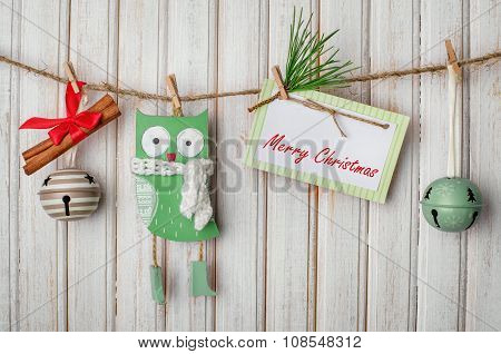 Christmas Decorations And Toys