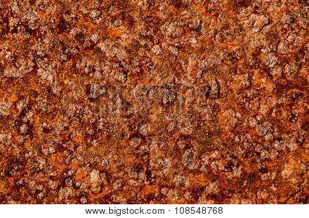 Oxidized Metal Surface