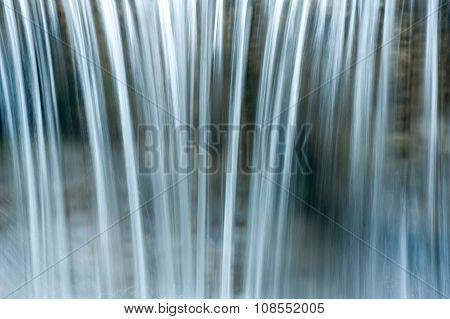 Backgroud Of Waterfall, Waterflow Texture
