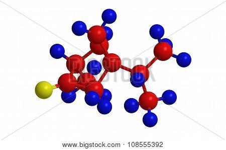 Alpha Thujone - Molecular Structure