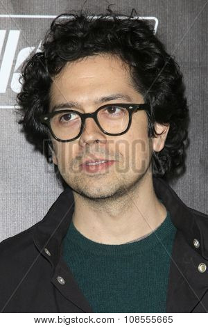 LOS ANGELES - NOV 05:  Geoffrey Arend at the Fallout 4 video game launch  at the downtown on November 05, 2015 in Los Angeles, CA