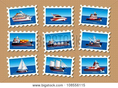 Nautical stamps