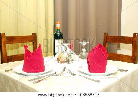 Bellini's Table Set Up in Quezon City, Philippines