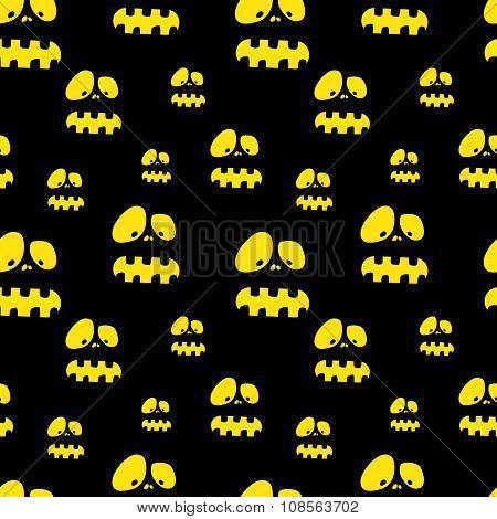 Halloween vector pattern