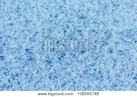Natural River Ice Background