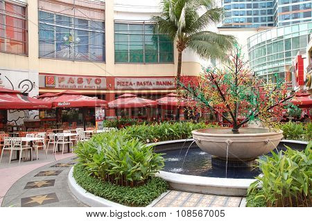 Eastwood Mall in Quezon City, Philippines