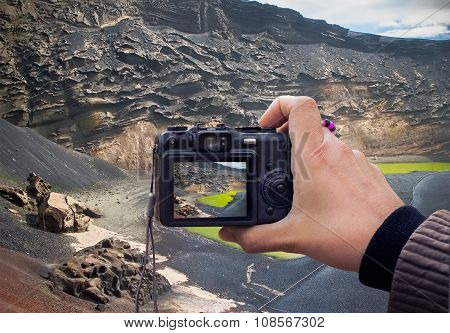 Lanzarote Landscape Photo Using Liveview