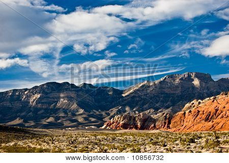 Red Rock Canyon Sky