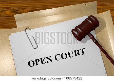 Open Court Concept