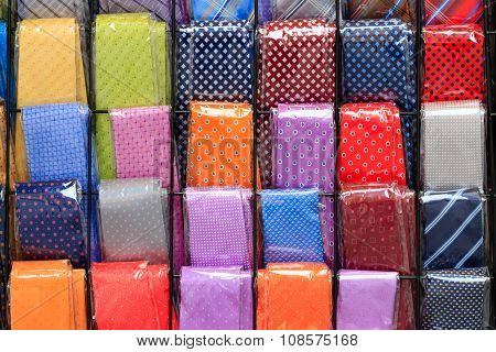 Coloured Neckties Background
