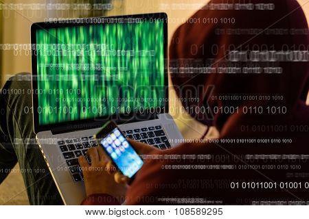 Computer hacker.