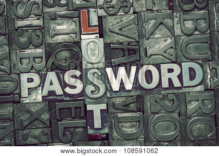 Lost Password Met