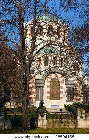 The Chapel-mausoleum, Pleven, Bulgaria