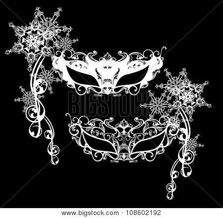 Winter Carnival Masks