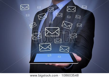 Email Sending on Tablet
