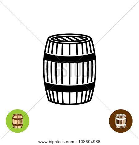 Barrel Vector Symbol