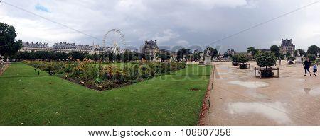 Jardin des Tuileries, Paris,France.
