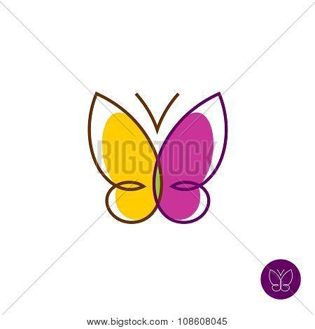 Butterfly Linear Logo