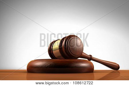 Judge Gavel Law Symbol
