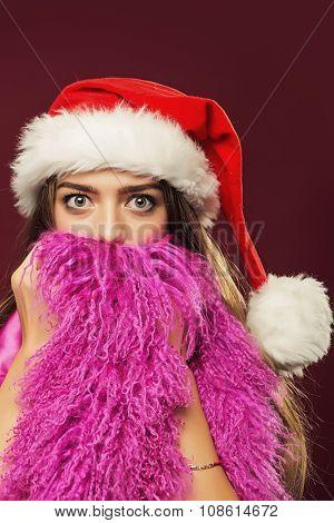 New Year Woman With Beard