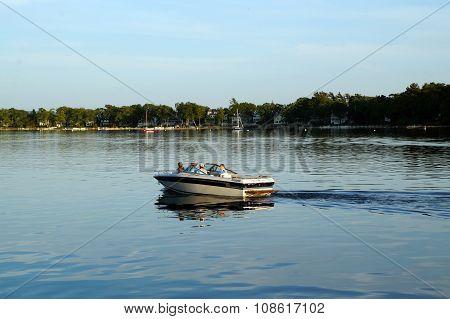 Celebrity Motorboat