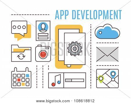 Application development. Mobile apps