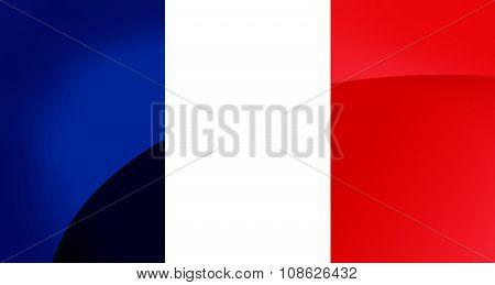 France Flag Circle
