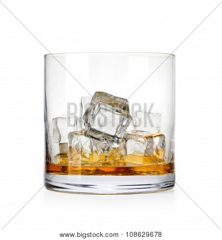 Whiskey Glass.