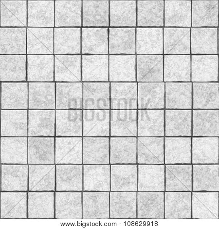Pattern of seamless ceramic tile wall texture.