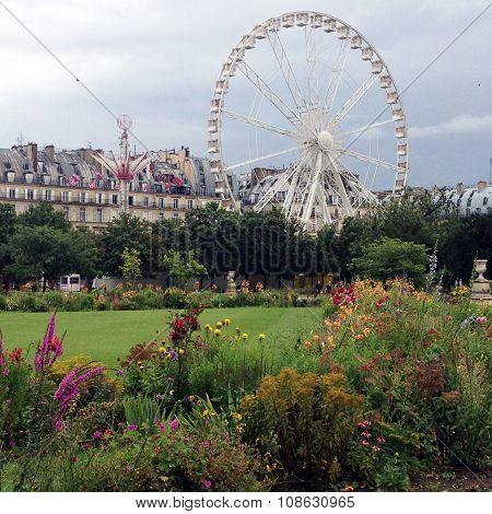 Tuileries garden,Paris,France.