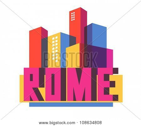 Rome city in italy is a beautiful destination to visit for tourism.