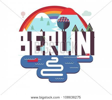 Berlin city in germany is a beautiful destination to visit for tourism.