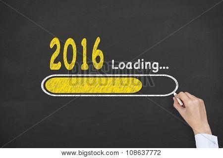Loading New Year 2016 on Blackboard
