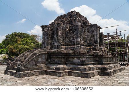 Candi Lumbung In Prambanan Temple Complex, Java,  Indonesia