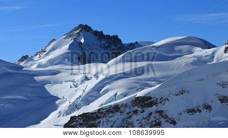 Mt Gletscherhorn, View From The Jungfraujoch