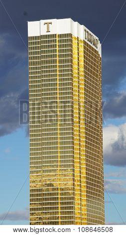 The Trump International Hotel in Las Vegas
