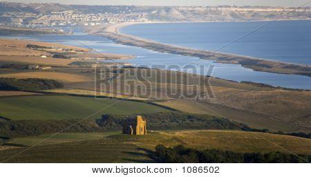 England Dorset Coast Chesil Beach