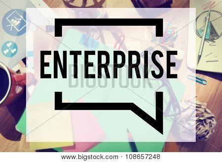 Enterprise Company Corporation Business Project Concept