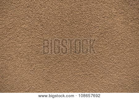 Orange Revetment Wall Putty Macro Texture Background