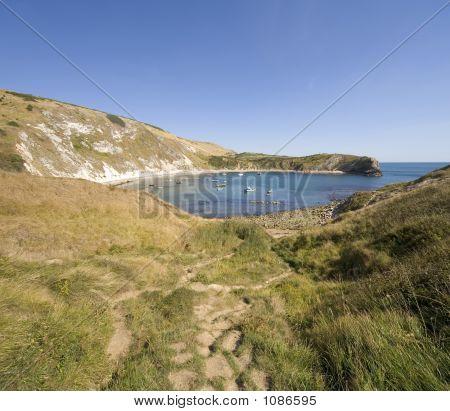Lulworth Cove Dorset Coast England