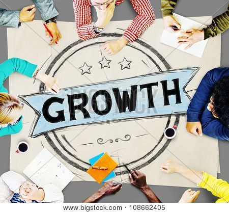 Business Growth Planning Strategy Development Concept